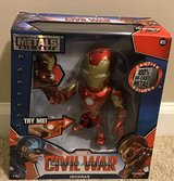 "Marvel Civil War Captain America Die Cast ""Iron Man"" in Algonquin, Illinois"