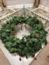 Christmas Door Wreath in Warner Robins, Georgia