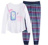 "Girls, SO 2 pc. PJ Set, ""Santa did you get my text?"" Size 4, NWOT in Algonquin, Illinois"