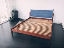 Habitat solid wood double bed frame in Stuttgart, GE