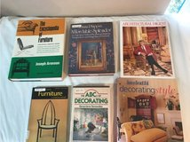 Collection of Books on Decorating in Spring, Texas