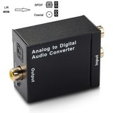 (2X) Analog To Digital Audio Converters W/Power Supply in Fort Campbell, Kentucky
