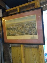 large antique litho early Princeton college in Cherry Point, North Carolina
