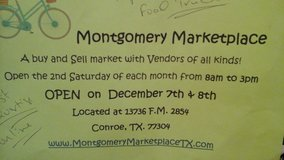 Vendors/Foodtrucks for Montgomery Marketplace in Conroe, Texas