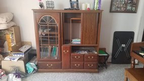 FREE Entertainment center + cabinet with drawers in Fort Lewis, Washington