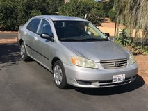 2003 Toyota Corolla in Temecula, California
