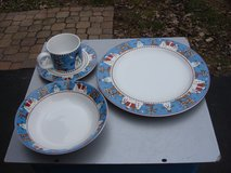 12 PLACE SETTING OF CHRISTMAS DISHES in Bartlett, Illinois