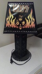KISS Lamp in Leesville, Louisiana