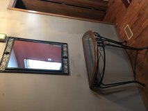 Console table with mirror in Joliet, Illinois