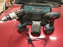 Bosch 18-volt Hammer Drill (HDH181) and Impact Driver (25618) Kit in Columbus, Georgia