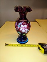 Triple signed Fenton Art glass in Cherry Point, North Carolina