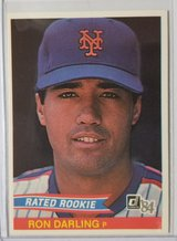 Ron Darling Rookie in Camp Lejeune, North Carolina