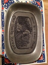 pewter bread plate in Cleveland, Ohio