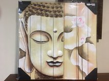 Buddha oil painting in Okinawa, Japan