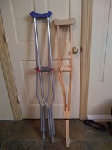 Crutches in Cleveland, Texas