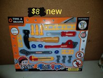 Toy tool set in Vacaville, California