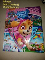 Skye (paw patrol) search and find character book in Vacaville, California