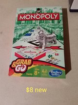 Monopoly grab and go game in Vacaville, California