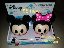 Mickey and Minnie Mouse wobbler toy in Vacaville, California