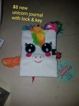 Unicorn journal with key in Vacaville, California