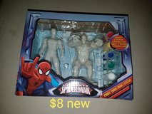 Paint your own Spider-Man set in Vacaville, California