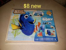 Dory puzzle set in Vacaville, California