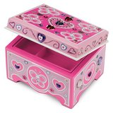 BRAND NEW!! Melissa and Doug Decorate Your Own Jewelry Box in Fort Campbell, Kentucky
