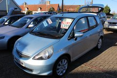 **HONDA JAZZ AUTOMATIC**LOW MILEAGE!!FREE ROAD TAX! 6 MONTHS WARRANTY! in Lakenheath, UK