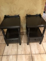 2 Young republic solid maple side tables in Spring, Texas