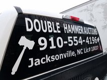 DOUBLE HAMMER AUCTIONS,  Estate Liquidation, Jacksonville NC in Camp Lejeune, North Carolina
