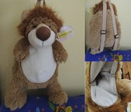 Animallow Collectible Lion Plush Backpack in Stuttgart, GE