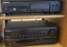 Pioneer multi cd player and receiver in Elgin, Illinois