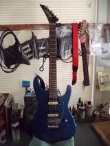 Jackson Custom with hard case in Yucca Valley, California