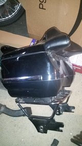 OEM Harley quick release luggage rack & tour pack in Fairfield, California