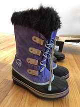 Girls Sorel snow boots size 4 in Chicago, Illinois