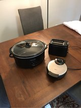 Crockpot, Waffle Maker, and Toaster in Kingwood, Texas
