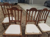 4 antique chairs in Vacaville, California