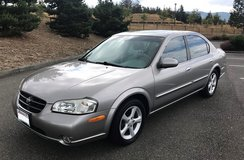 2000 Nissan Maxima GLE in Tacoma, Washington