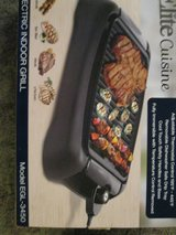 """Indoor Grill, 13"""" surface, Elite Cuisine Brand in Lawton, Oklahoma"""