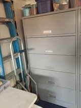 Steal five drawer cabinetS in Roseville, California