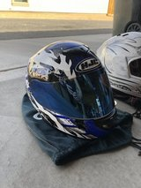 Helmets in Fort Irwin, California