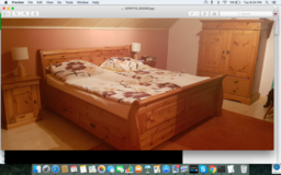 Solid wood Bedroom set in Ramstein, Germany