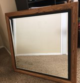 "Large mirror (~29"" x 29"") in Yucca Valley, California"