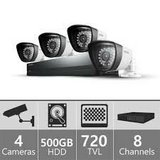 Samsung 4-Camera,  DVR security system in Morris, Illinois