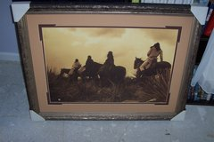 Storm-Apache 1906 painting in Conroe, Texas