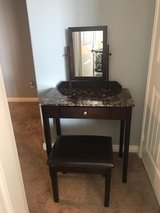 Vanity w/ mirror and stool in Lake Elsinore, California