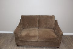 Very comfortable and plush brown Loveseat in CyFair, Texas