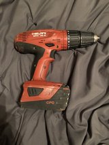 Hilti power drill in Kingwood, Texas