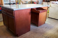 Large Wheeled Storage Workspace /Project Table /Kitchen Island in Fort Lewis, Washington