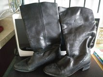 Women's BLACK Size 6 Mid-Calf BOOTS in Travis AFB, California